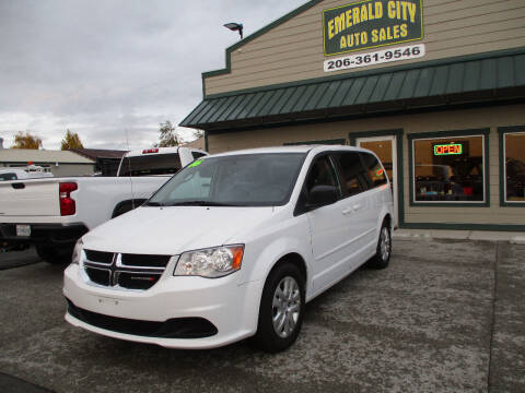 2016 Dodge Grand Caravan for sale at Emerald City Auto Inc in Seattle WA
