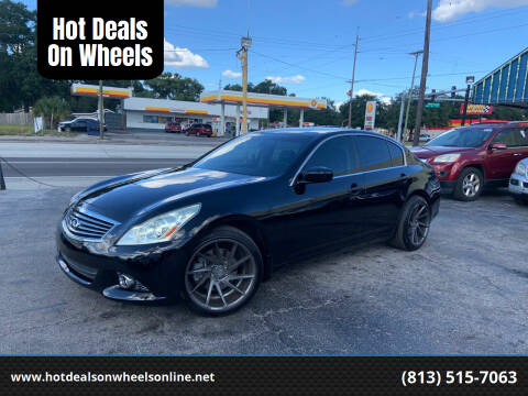 2013 Infiniti G37 Sedan for sale at Hot Deals On Wheels in Tampa FL