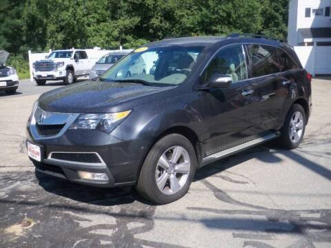 2013 Acura MDX for sale at Charlies Auto Village in Pelham NH