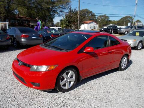 2007 Honda Civic for sale at Carolina Auto Connection & Motorsports in Spartanburg SC