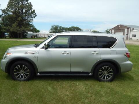 2020 Nissan Armada for sale at Wheels Unlimited in Smith Center KS