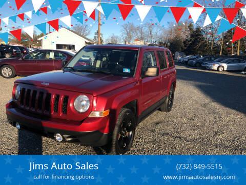 2013 Jeep Patriot for sale at Jims Auto Sales in Lakehurst NJ