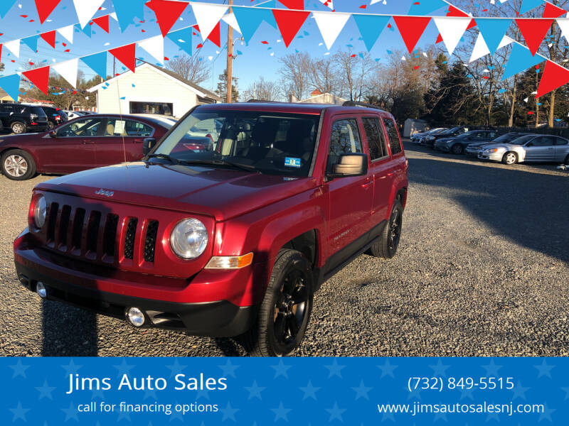2013 Jeep Patriot for sale at Jims Auto Sales in Lakehurst NJ