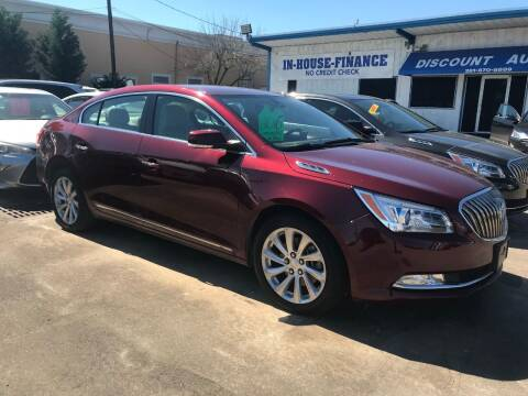2016 Buick LaCrosse for sale at Discount Auto Company in Houston TX