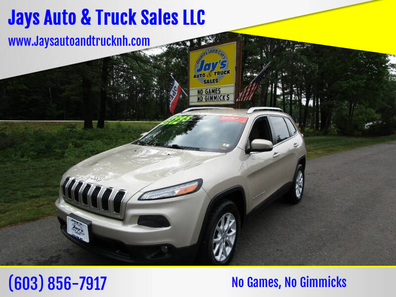 2015 Jeep Cherokee for sale at Jays Auto & Truck Sales LLC in Loudon NH