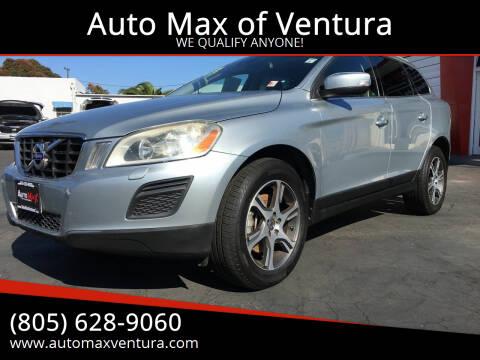 2013 Volvo XC60 for sale at Auto Max of Ventura in Ventura CA