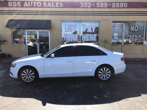 2012 Audi A4 for sale at BSS AUTO SALES INC in Eustis FL