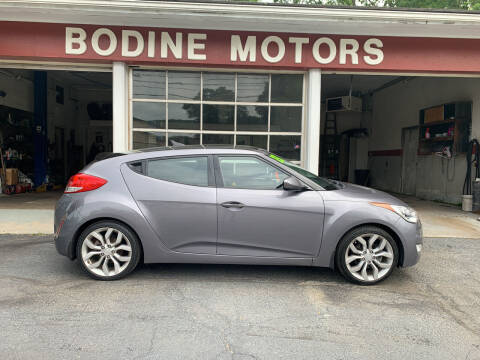 2013 Hyundai Veloster for sale at BODINE MOTORS in Waverly NY