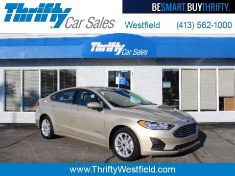 2019 Ford Fusion Hybrid for sale at Thrifty Car Sales Westfield in Westfield MA