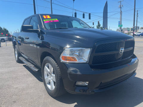 2012 RAM Ram Pickup 1500 for sale at Low Price Auto and Truck Sales, LLC in Brooks OR
