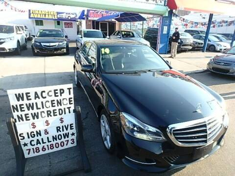 2014 Mercedes-Benz E-Class for sale at Cedano Auto Mall Inc in Bronx NY