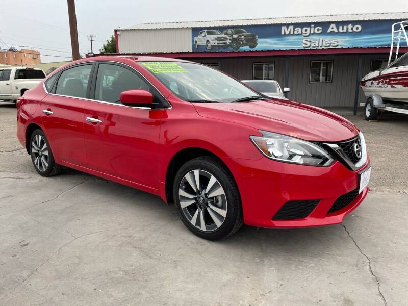 2019 Nissan Sentra for sale at MAGIC AUTO SALES, LLC in Nampa ID