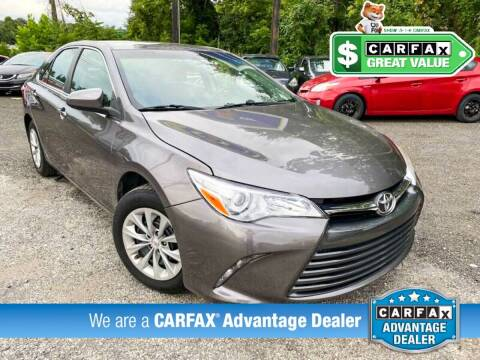 2016 Toyota Camry for sale at High Rated Auto Company in Abingdon MD