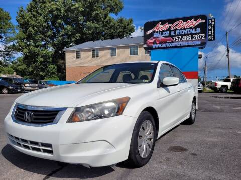 2010 Honda Accord for sale at Auto Outlet Sales and Rentals in Norfolk VA