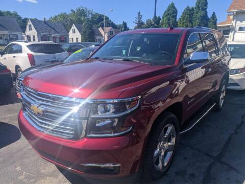 2017 Chevrolet Tahoe for sale at CLASSIC MOTOR CARS in West Allis WI