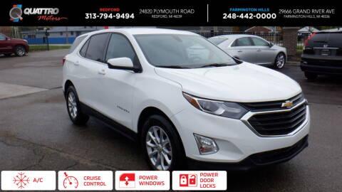 2018 Chevrolet Equinox for sale at Quattro Motors 2 in Farmington Hills MI