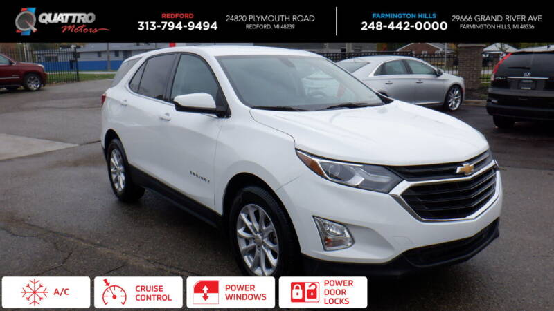 2018 Chevrolet Equinox for sale at Quattro Motors 2 in Farmington Hills MI