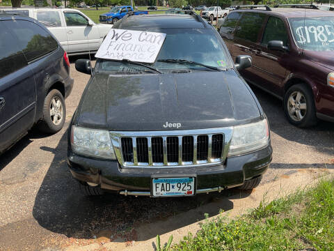 2004 Jeep Grand Cherokee for sale at Continental Auto Sales in White Bear Lake MN