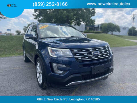 2017 Ford Explorer for sale at New Circle Auto Sales LLC in Lexington KY