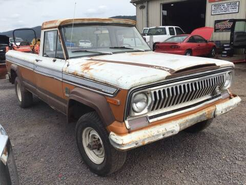 1973 Jeep J4000 for sale at Troys Auto Sales in Dornsife PA