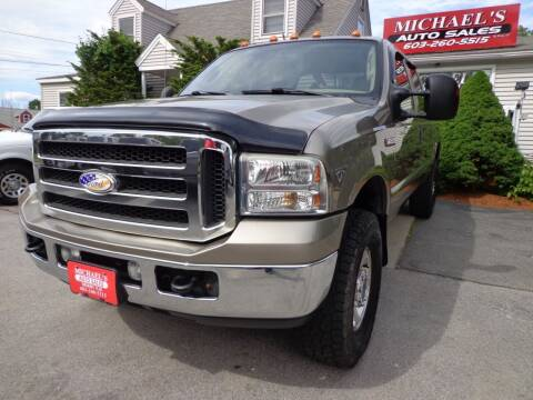 2005 Ford F-250 Super Duty for sale at Michael's Auto Sales in Derry NH