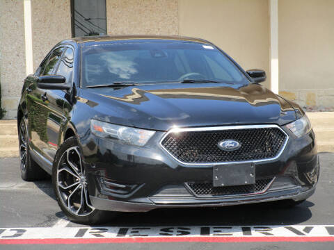2013 Ford Taurus for sale at Ritz Auto Group in Dallas TX