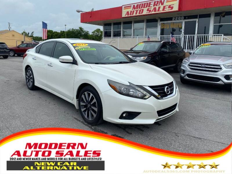 2017 Nissan Altima for sale at Modern Auto Sales in Hollywood FL