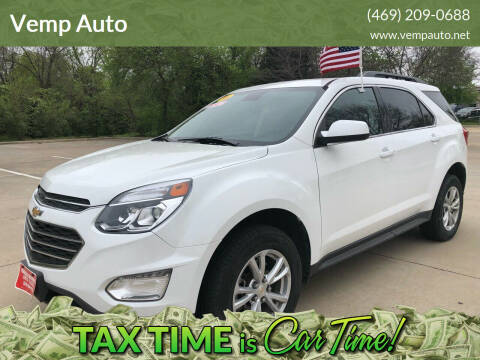 2016 Chevrolet Equinox for sale at Vemp Auto in Garland TX