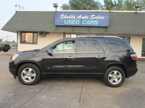 2009 GMC Acadia for sale at SHULTS AUTO SALES INC. in Crystal Lake IL