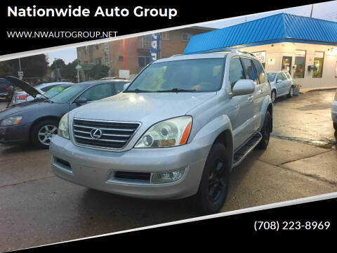 2004 Lexus GX 470 for sale at Nationwide Auto Group in Melrose Park IL