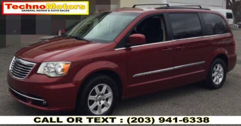 2012 Chrysler Town and Country for sale at Techno Motors in Danbury CT