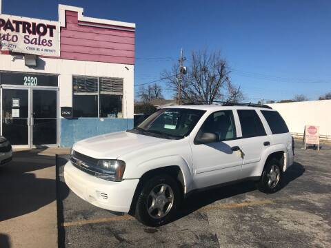 2008 Chevrolet TrailBlazer for sale at Patriot Auto Sales in Lawton OK