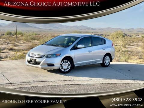 2011 Honda Insight for sale at Arizona Choice Automotive LLC in Mesa AZ