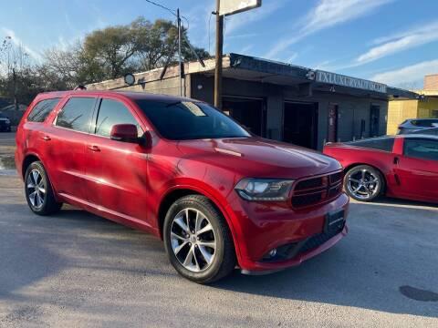 2014 Dodge Durango for sale at Texas Luxury Auto in Houston TX