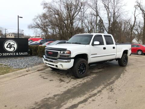 2003 GMC Sierra 2500HD for sale at Station 45 Auto Sales Inc in Allendale MI