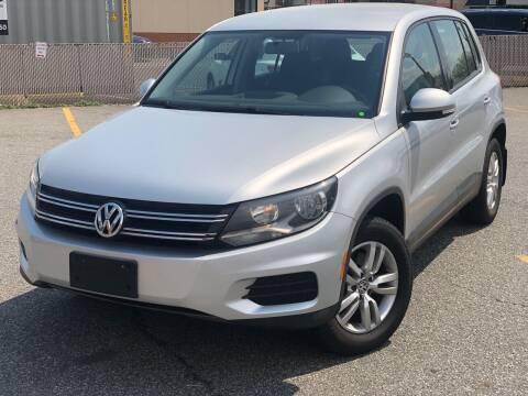 2013 Volkswagen Tiguan for sale at MAGIC AUTO SALES - Magic Auto Prestige in South Hackensack NJ