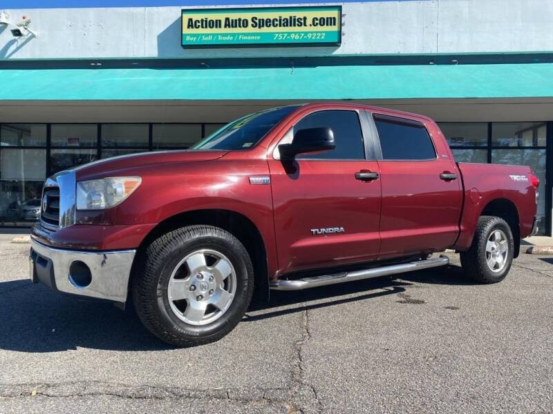 2008 Toyota Tundra for sale at Action Auto Specialist in Norfolk VA