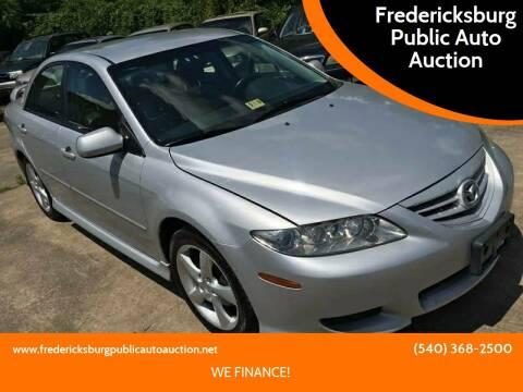 2005 Mazda MAZDA6 for sale at FPAA in Fredericksburg VA