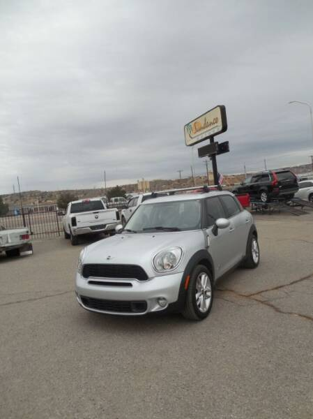 2012 MINI Cooper Countryman for sale at Sundance Motors in Gallup NM