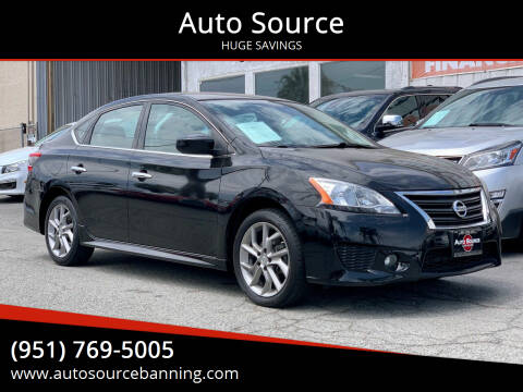 2014 Nissan Sentra for sale at Auto Source in Banning CA