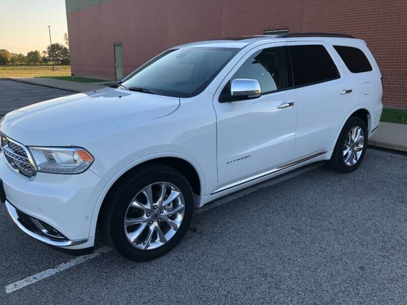 2020 Dodge Durango for sale at Teds Auto Inc in Marshall MO