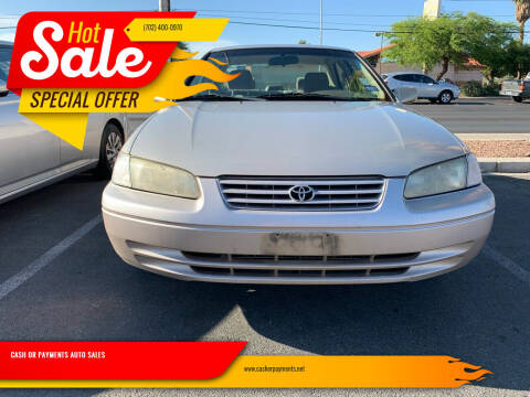 1997 Toyota Camry for sale at CASH OR PAYMENTS AUTO SALES in Las Vegas NV