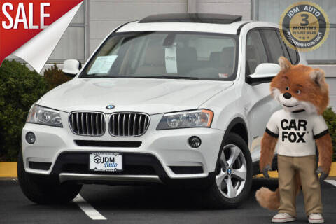 2012 BMW X3 for sale at JDM Auto in Fredericksburg VA