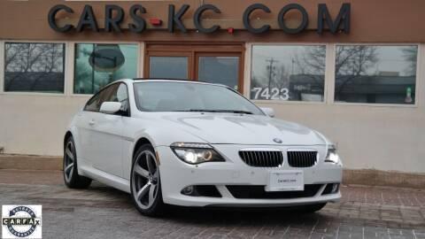 2009 BMW 6 Series for sale at Cars-KC LLC in Overland Park KS