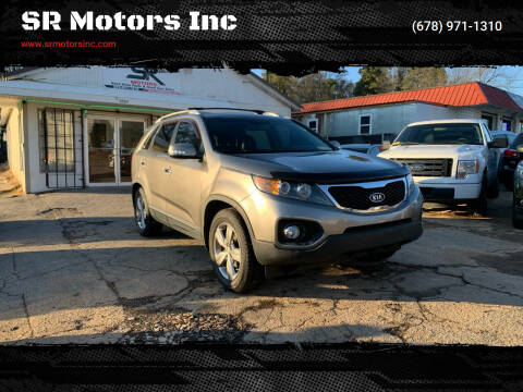2013 Kia Sorento for sale at SR Motors Inc in Gainesville GA