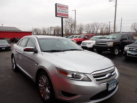 2010 Ford Taurus for sale at Marty's Auto Sales in Savage MN