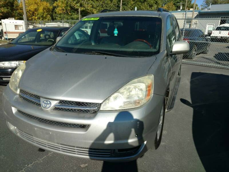2005 Toyota Sienna for sale at Gandiaga Motors in Jerome ID