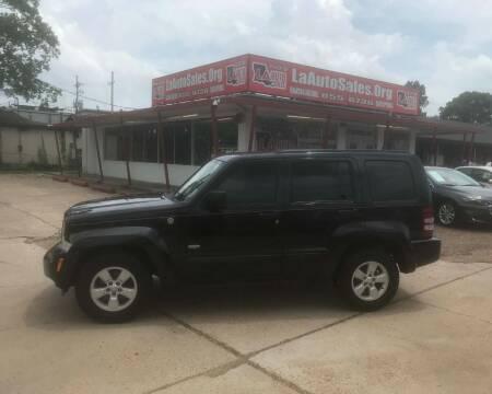 2012 Jeep Liberty for sale at LA Auto Sales in Monroe LA