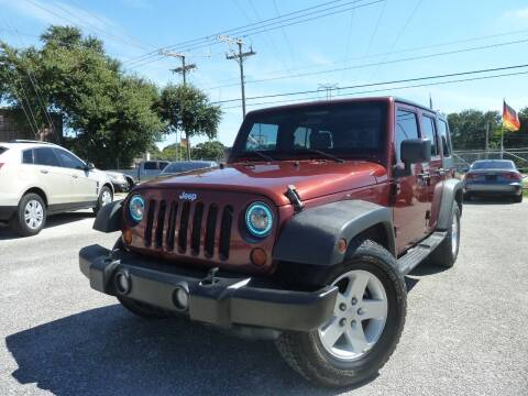 2008 Jeep Wrangler Unlimited for sale at Das Autohaus Quality Used Cars in Clearwater FL