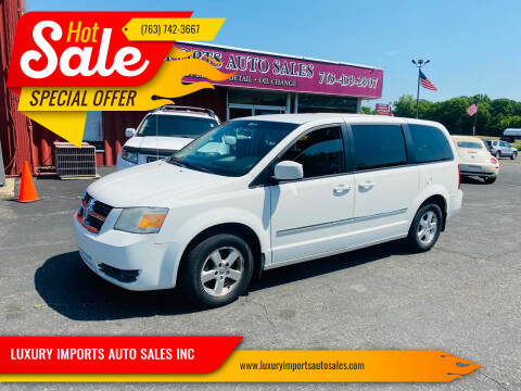 2008 Dodge Grand Caravan for sale at LUXURY IMPORTS AUTO SALES INC in North Branch MN